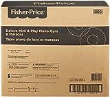 Fisher-Price Deluxe Kick & Play Piano Gym & Maracas