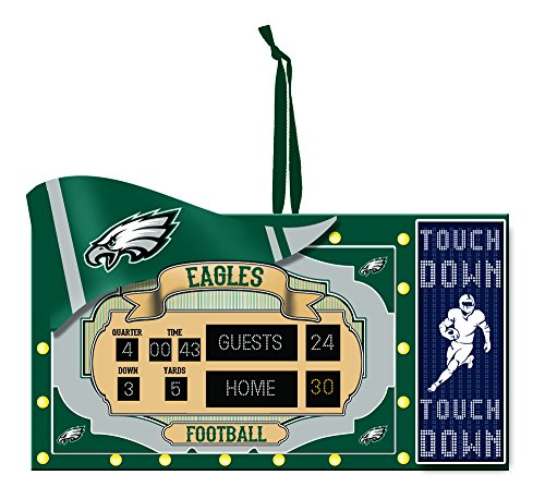 Team Sports America Philadelphia Eagles Scoreboard Ornament