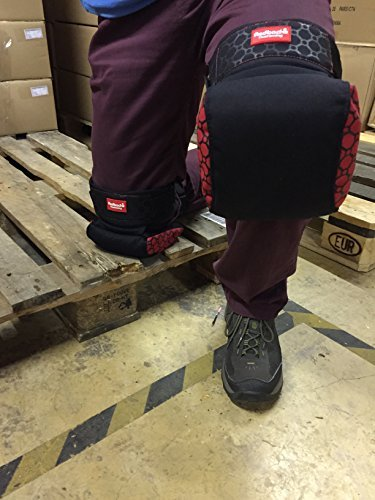 NEW Redbacks Strapped Knee Pads, Model: STLW20, Outdoor & Hardware Store
