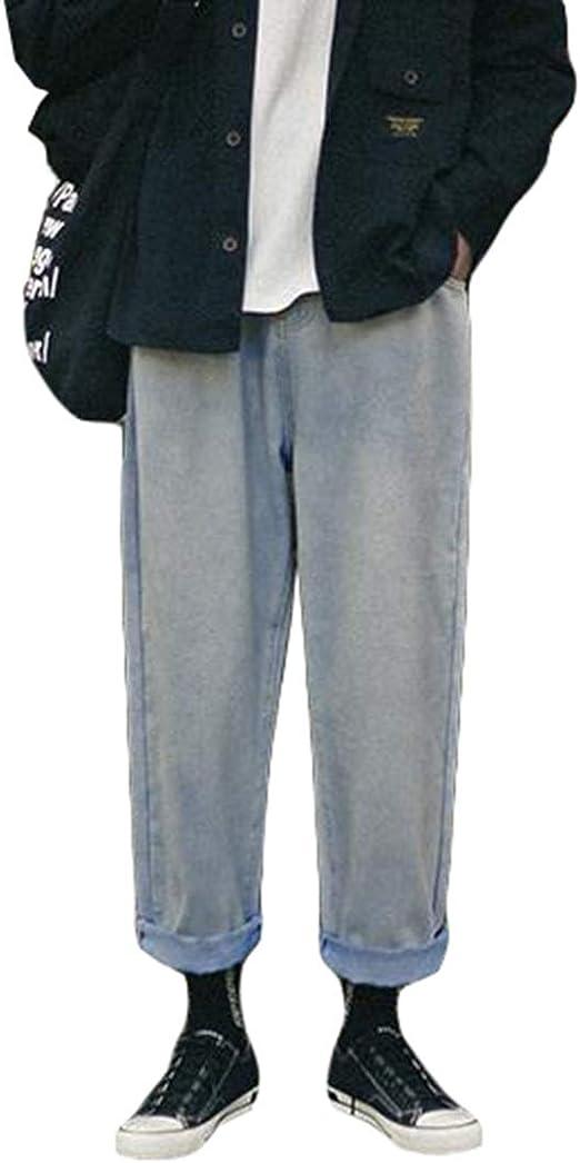 Ptorメンズ デニムパンツ ゆったり ワイドパンツ デニム シンプル ジーンズ ストレート カジュアル ロングパンツ ジーパン 大きいサイズ ズボン オールシーズン
