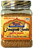 Rani Fenugreek (Methi) Seeds Whole 21oz (1.30lbs 596g - 1lb & 5oz)...