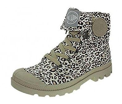 F Toile Animals Palladium Leopard Boots Baggy D53pallad011 Femme EwqaXRz