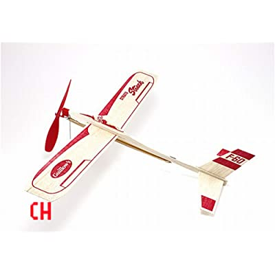 Strato Streak Rubber Band Powered Glider Guillows: Toys & Games