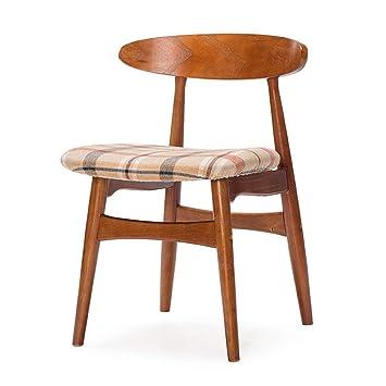 GAOLI Retro sillas, sillones Sencillos de Madera, sillas de ...