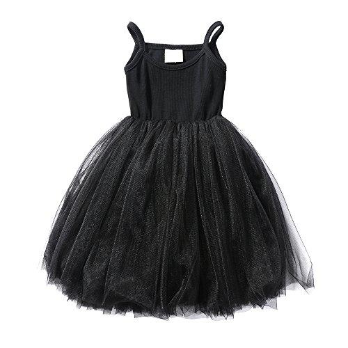 Baby Girl Dress, Toddler Pleated Tutu Skirt Children Sleeveless Princess Dress