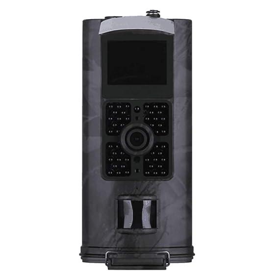 Luckyza SMS MMS GPRS Cámara De Caza 1080P 16MP IP54 Cámara De Vigilancia Digital Velocidad De Disparo 0.6S con Visión Nocturna De 20M Y Pantalla LCD De 2 ...