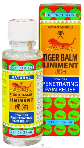 - Tiger Liniment ( 1x2 OZ)