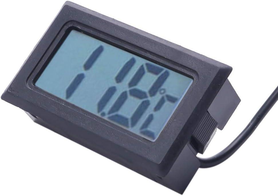 Fish Tank Water Thermometer LCD Aquarium Waterproof  Detector Display Digital US