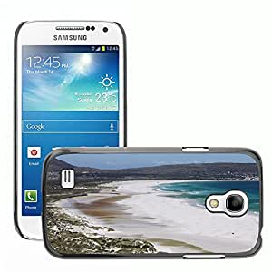 Hot Style Cell Phone PC Hard Case Cover // M00170459 Sea Beach Mountains Coast Water // Samsung Galaxy S4 Mini i9190