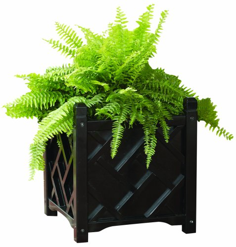 DMC Products 70212 Chippendale Planter, 18-inch, Black from DMC Products