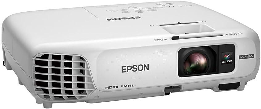 Epson Powerlite W28+ Video - Proyector (3000 lúmenes ANSI, 3LCD ...