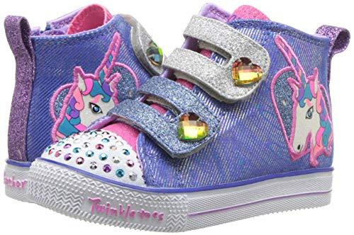 Pictures of Skechers Kids' Shuffle Lite-Unicorn Pals Sneaker 10995N 4