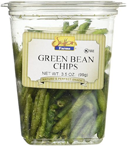 Setton Farms Vegetable Chips, Green Bean Chips with Sea Salt Container, 3.5 oz. Chips String