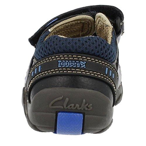 Clarks , Sandales pour garçon Bleu bleu 9 Child UK