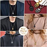 FaithHeart Mens Norse Viking Bear Paw Necklace