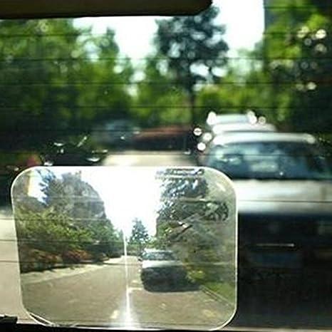 Lentille Loupe Miroir Angle Mort R/étroviseur pour la Vitre Arri/ère//Pare Brise Arri/ère A:254*200mm S/écurit/é pour Grand Angle de Vue Pendant Marche-arri/ère Accessoire Voiture Auto 1pc