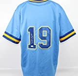 Robin Yount Autographed Milwaukee Brewers Jersey JSA COA