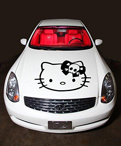 hello kitty car hood decal - 1