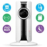 Cheap [206° VR CAM] xmartO i180-2MP 1080p HD Wireless Security VR Space Camera (Two-way talk