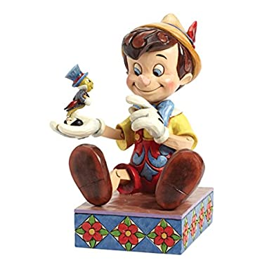 Department 56 Disney Traditions by Jim Shore Pinocchio 75th Anniversary Figurine, 7