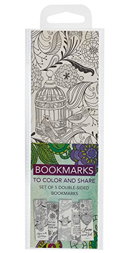Creative Expressions of Faith Collection #2: Bookmarks to Color and Share - 5 Pack from Christian Art Gifts
