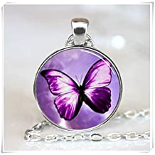 Artificial ,Butterfly Pendant, Butterfly Necklace, Butterfly Jewelry