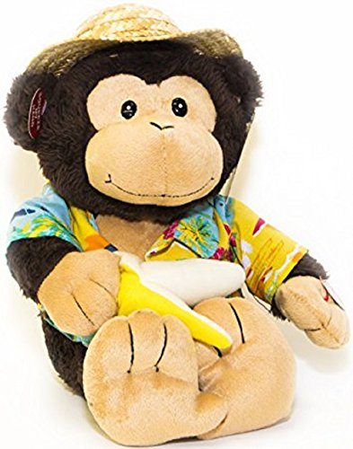 Animated Plush (Cuddle Barn Animated Plush Toy Monkey Banana Boat Bruno Sings Day O)