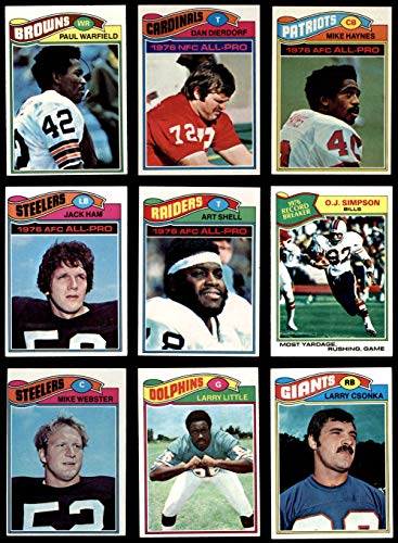 1977 topps football complete set - 8