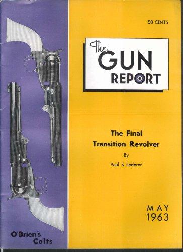 GUN REPORT Final Transition Revolver O'Brien Colt Small Hammer Conversion 5 1963