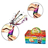 Christmas Party Favor | 12 Pack Party Poppers | Party Fun and Noisemakers for New Years Eve Parties, Weddings, Graduation, Bachelorette Party and More.