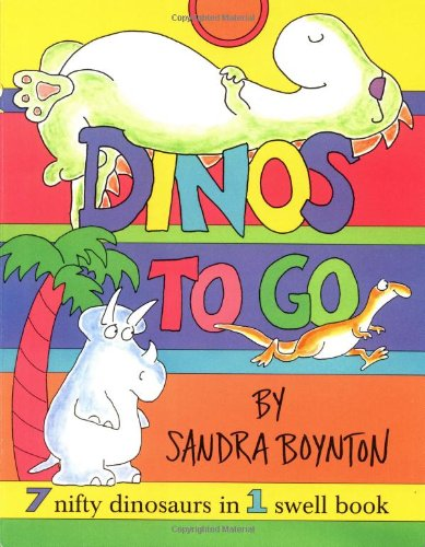 Dinos To Go : 7 Nifty Dinosaurs in 1 Swell Book pdf