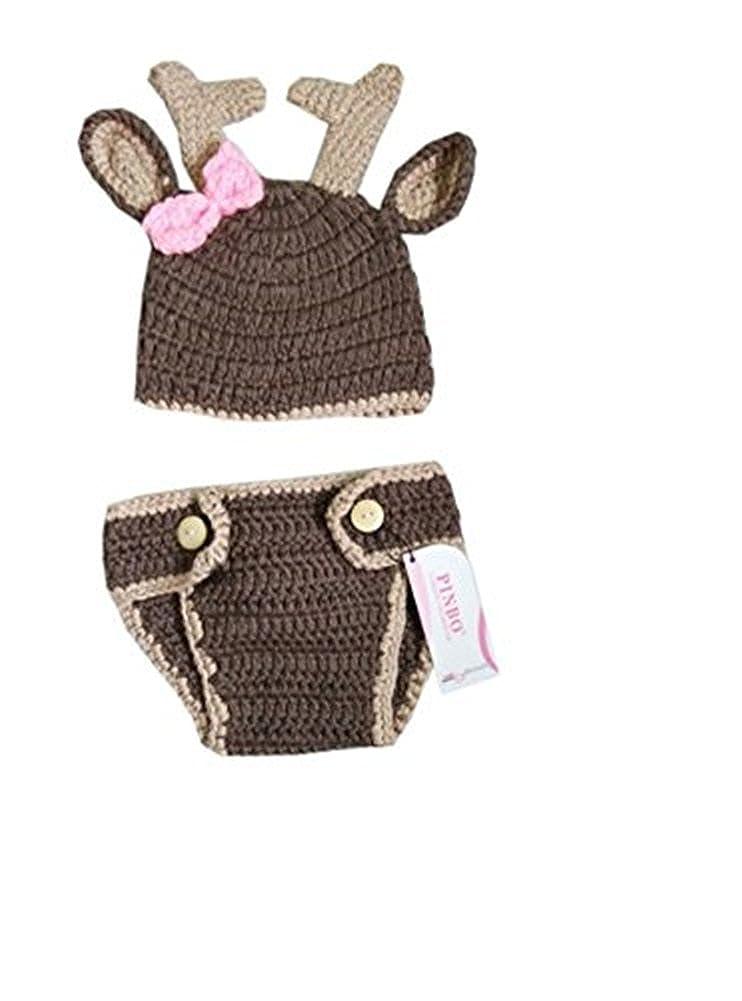 Amazon.com: pinbo bebé niñas fotografía prop Cute Animal ...