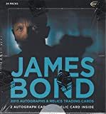 James Bond Autographs & Relics (featuring Skyfall) Factory Sealed Trading Card Box by Rittenhouse Archives in 2013