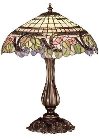 "Meyda Lighting 38516 19""H Handel Grapevine Table Lamp"