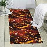 GDBADY Pumpkin Domestic Sitting Room Bedroom Domestic Carpet