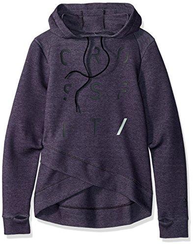 Reebok Women's CROSSFIT Speedwick Hoodie, Smoky Volcano Mel, Medium (Women Reebok Sweatshirt)
