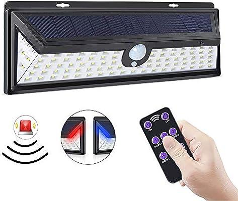 ERAY Luz Solar Exterior 92 LEDs con Sensor de Movimiento, Función ...