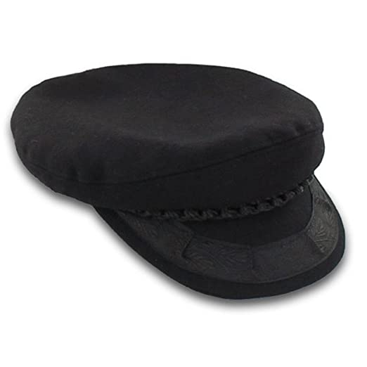 Image Unavailable. Image not available for. Color  Greek Fisherman s Hat -  Wool - Black ... 066f1eaee8f2