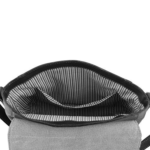 Tuscany Leather - Sac porté épaule cuir - Marron foncé