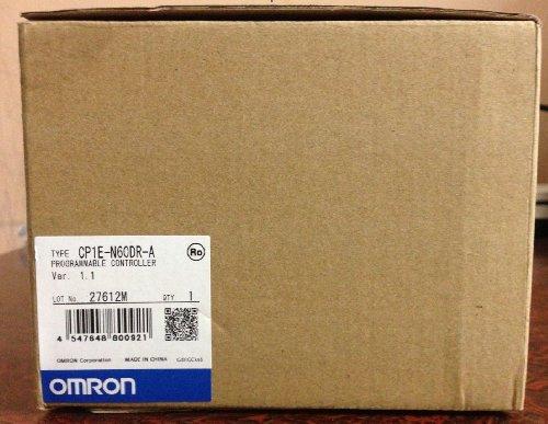 (Omron CP1E-N60DR-A PLC CPU Unit 60I/O)
