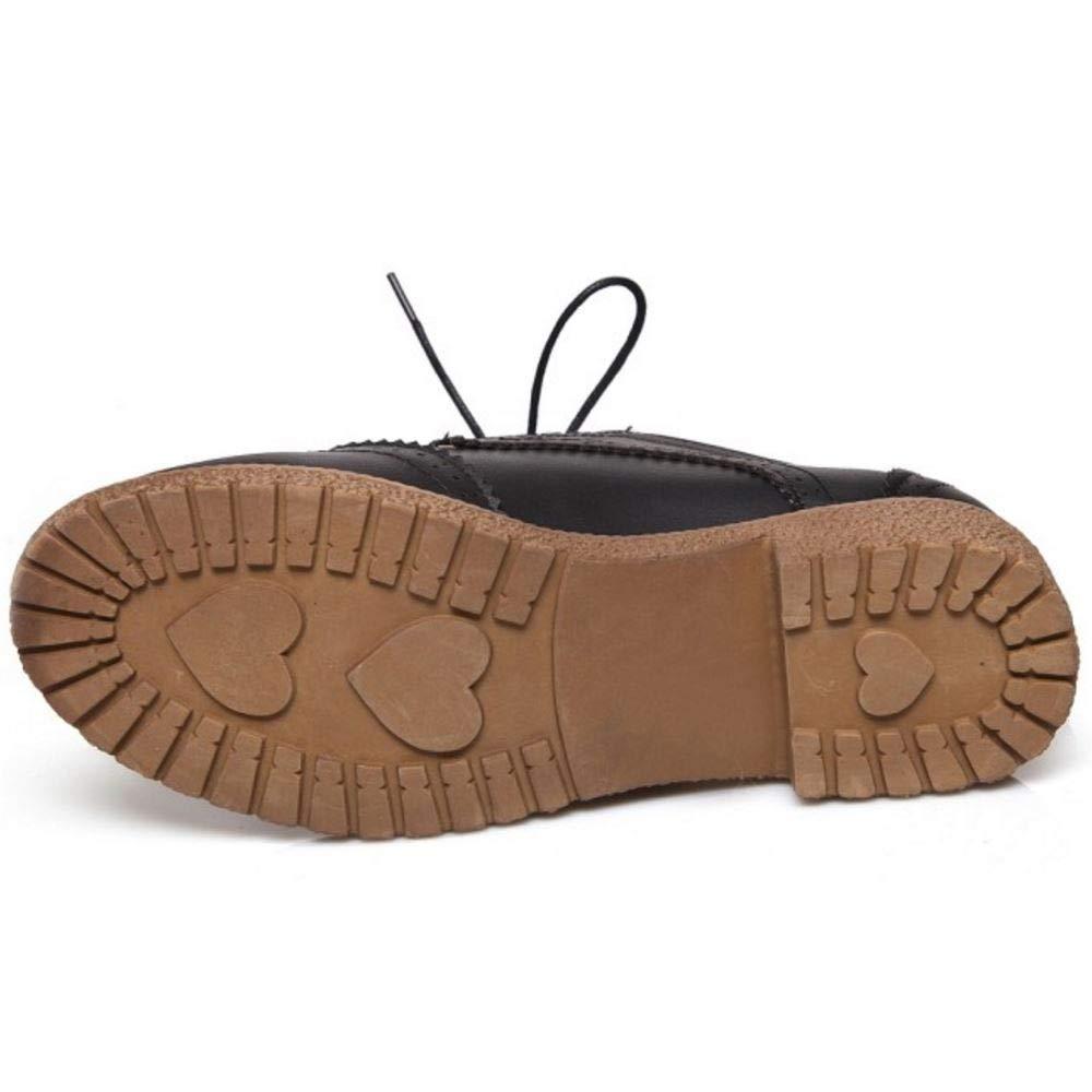ceb8b57a Zanpa Mujer Clásico Oxford Zapatos Flat Lace up Uniform Colegio Zapatos:  Amazon.es: Zapatos y complementos