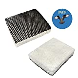 HQRP 2-pack Humidifier Wick Filter for Holmes Bionaire 900 / 900CS / 900X / CBW9 Replacement + HQRP Coaster