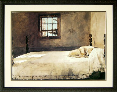 Master Bedroom By Andrew Wyeth 32x24 by Brooklynart