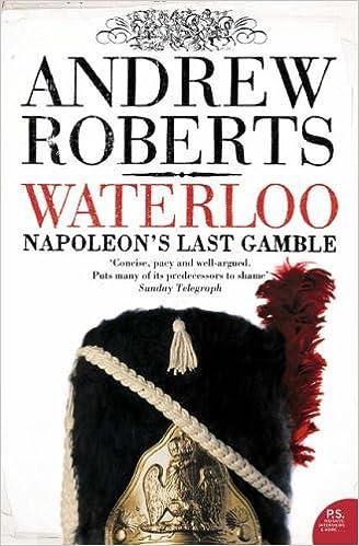 Waterloo: Napoleons Last Gamble (Making History (Paperback))