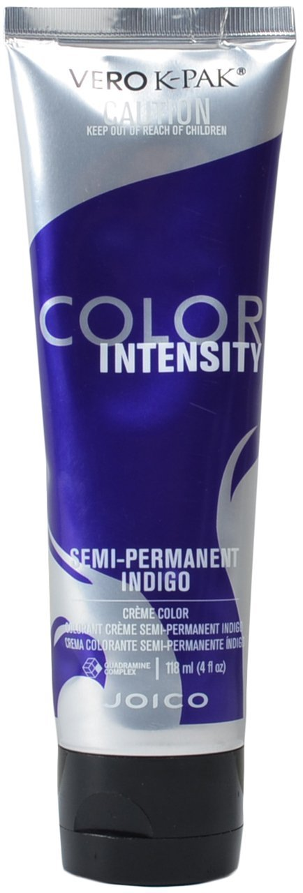 Joico Vero K-PAK Color Intensity Semi-Permanent Hair Color 4 oz - INDIGO 0074469462495