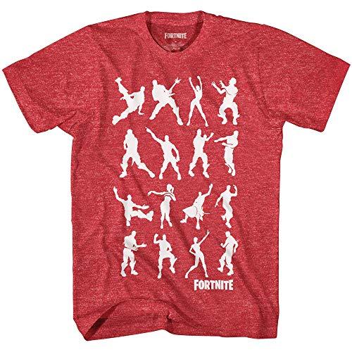 Mad Engine Fortnite Dance Dance Boys Short Sleeve T-Shirt (Heather ()