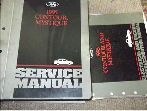 517K0ku bVL._SY375_BO1204203200_ 1995 ford contour repair shop service manual set oem (service manual
