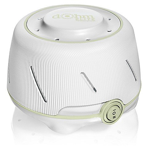 1 Pack of Dohm Elite (White/Green) White Noise Machine By Marpac