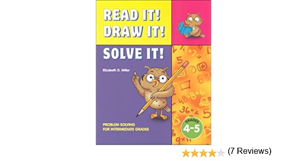 Amazon.com: Read It! Draw It! Solve It! Problem Solving for ...
