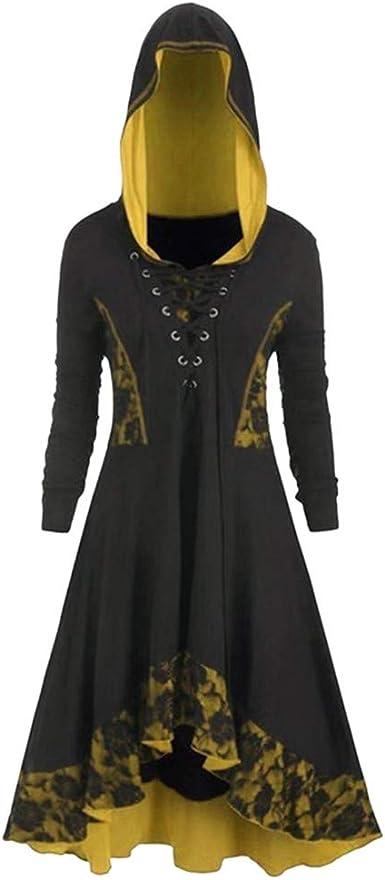 TuHao88 - Falda de Dama, Vestido de Fiesta, Falda gótica, Vestido ...